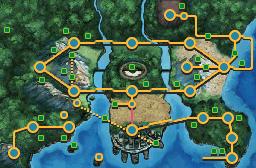 Route four 4 Unova_Route_4_Map